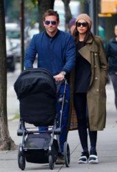 Irina Shayk and Bradley Cooper Out in New York
