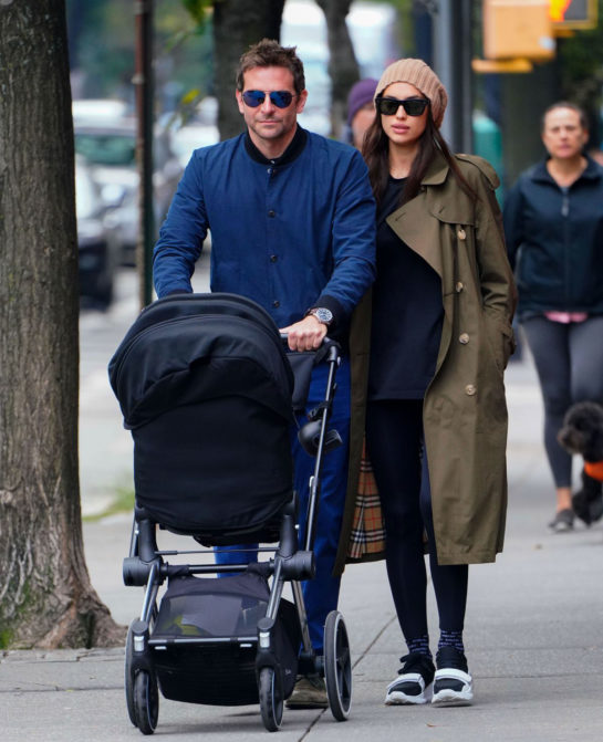 Irina Shayk and Bradley Cooper Out in New York