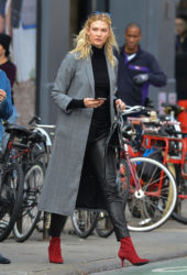Karlie Kloss Out in New York City