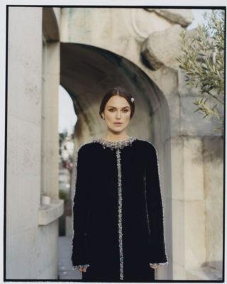 Keira Knightley in Harper's Bazaar Magazine (UK December 2018)