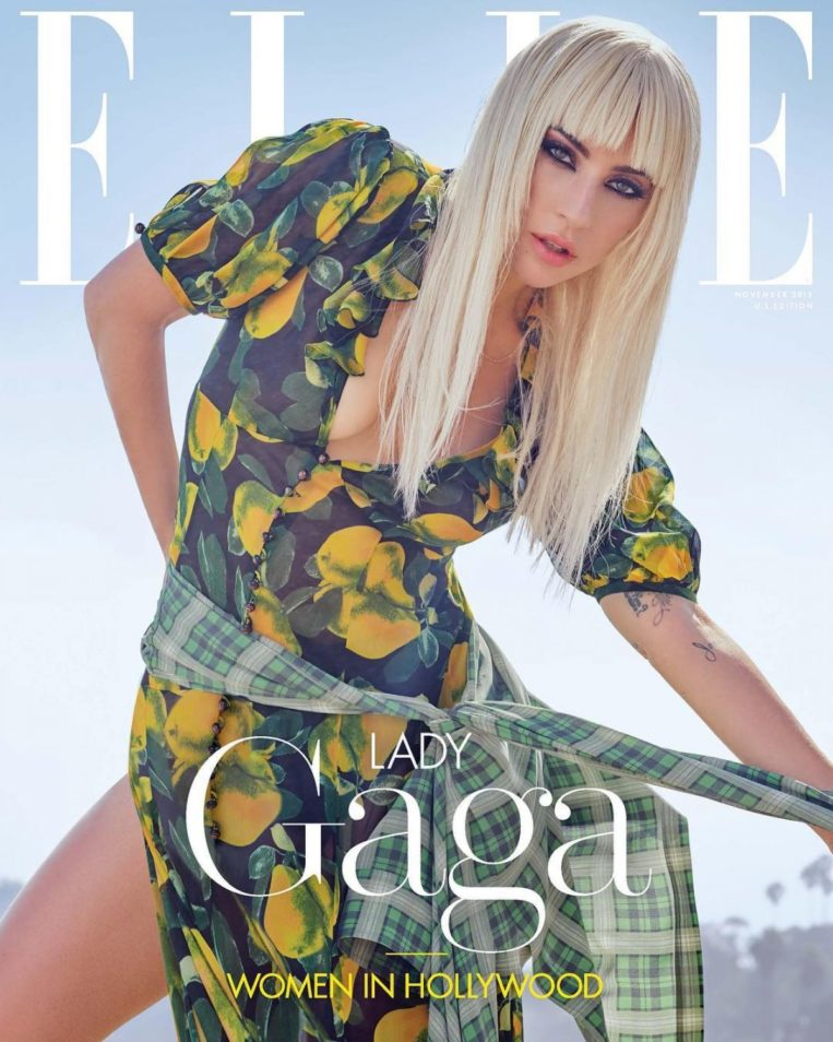 Lady Gaga in Elle Women in Hollywood (November 2018)