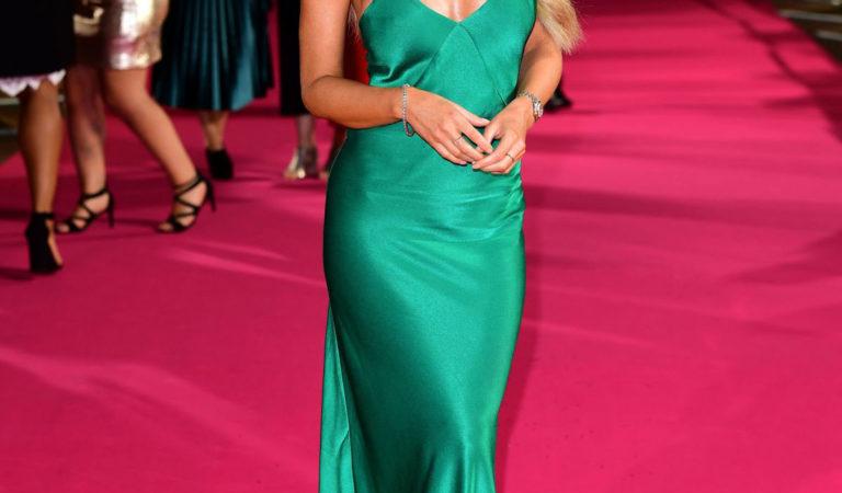 Celebrity Dresses – Lauren Pope at ITV Palooza in London