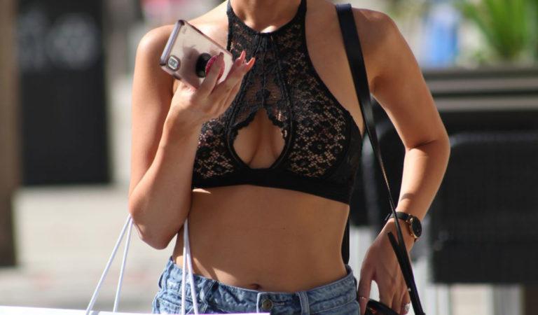Celebrity Shopping – Lisa Opie Shopping in Miami