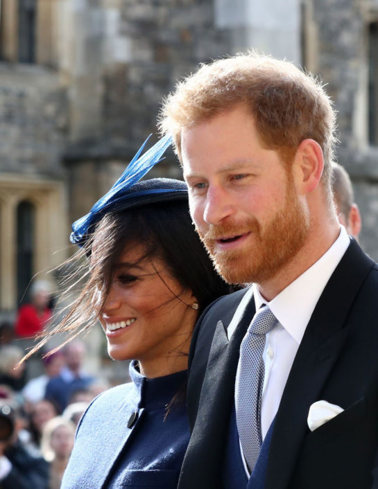 Meghan Markle and Prince Harry at the Wedding of Princess Eugenie of York and Mr. Jack Brooksbank in WindsorMeghan Markle and Prince Harry at the Wedding of Princess Eugenie of York and Mr. Jack Brooksbank in Windsor