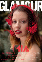 Mia Goth in Glamour Magazine (Spain November 2018)