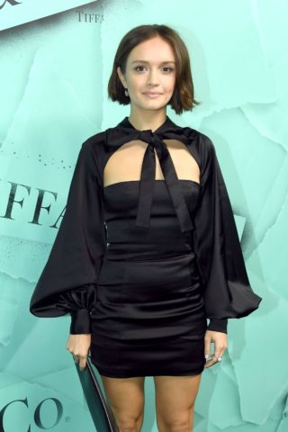 Olivia Cooke at Tiffany & Co. Celebrates 2018 Tiffany Blue Book Collection in New York