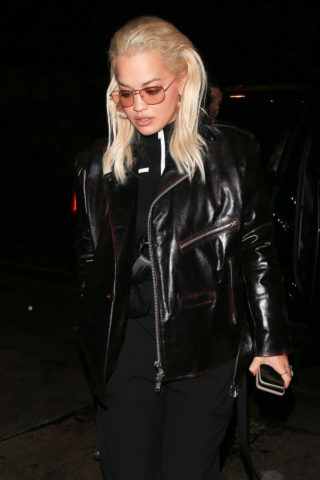 Rita Ora at Craig's in West Hollywood