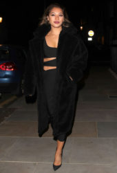Vanessa White Night Out in London