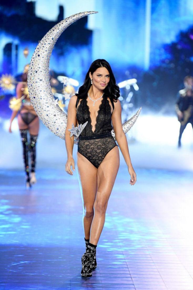 Adriana Lima at Victoria's Secret Fashion Show 2018