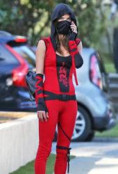 Alessandra Ambrosio Ready For Halloween Party in Santa Monica
