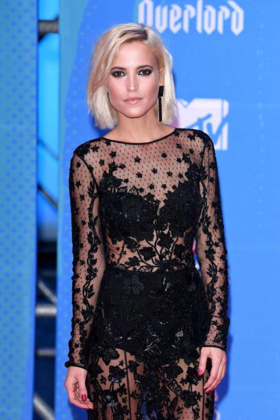 Ana Fernández at 2018 MTV Europe Music Awards at Bilbao