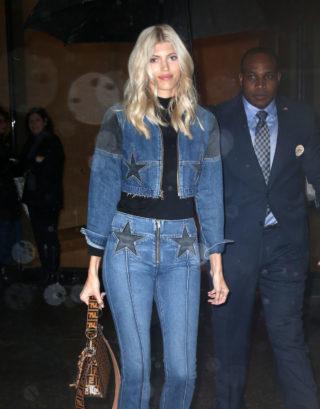 Devon Windsor at Victoria's Secret Fashion Show Fittings in New York