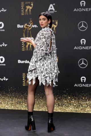 Dua Lipa at 2018 Bambi Awards in Berlin