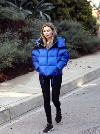 Elizabeth Olsen Out and about in Los Angeles