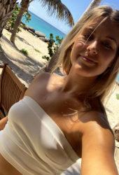 Eugenie Bouchard in Bikini on the Beach (Instagram Pictures)
