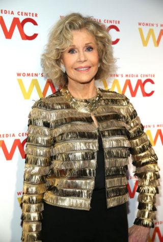Jane Fonda at 2018 Women's Media Awards in New York