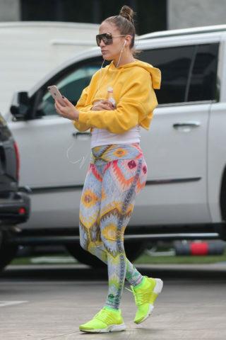 Jennifer Lopez Out in Los Angeles