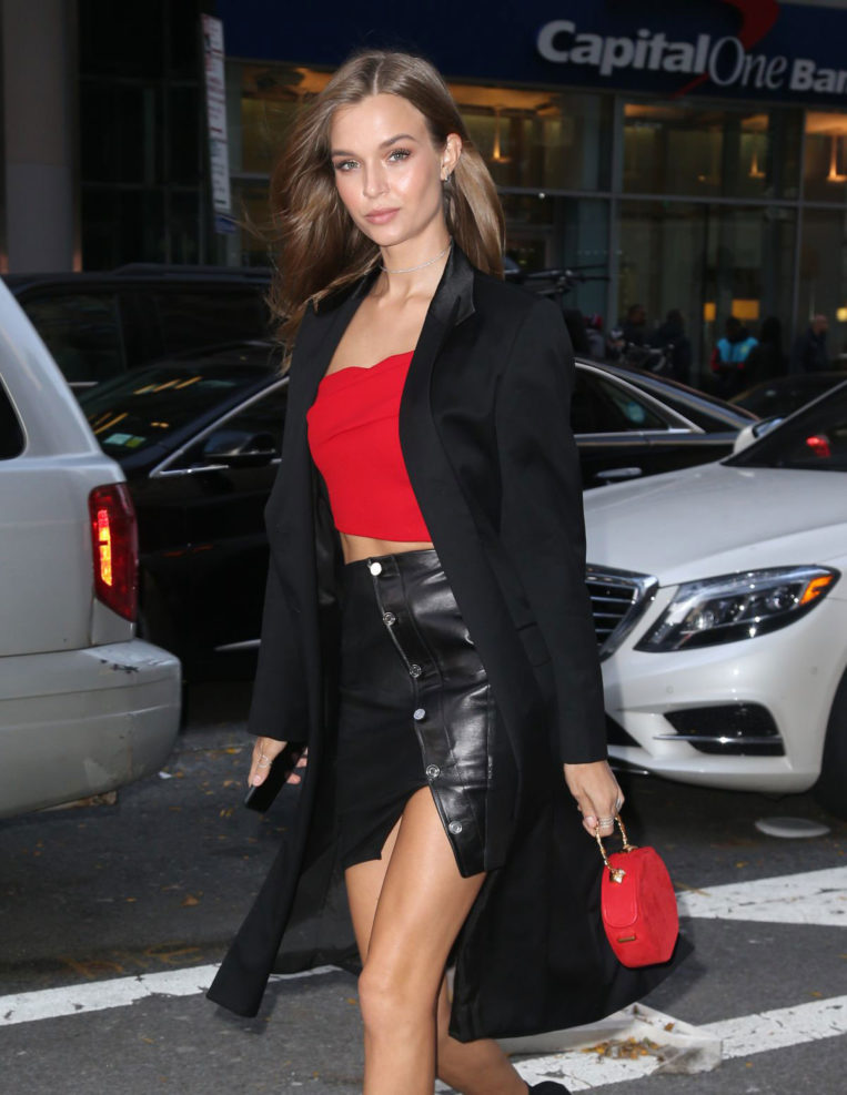 Josephine Skriver at Victoria's Secret Fashion Show Fittings in New York