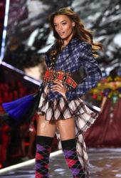 Lameka Fox at Victoria's Secret 2018 Fashion Show in New York
