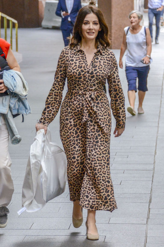 Nigella Lawson Out and About in Sydney