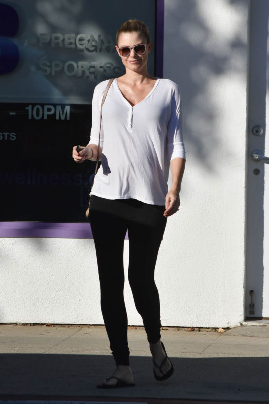 Pregnant Paige Butcher Out in Los Angeles