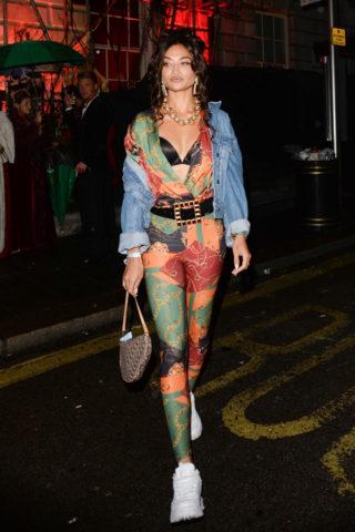 Shanina Shaik at Annabel's Halloween Party in London