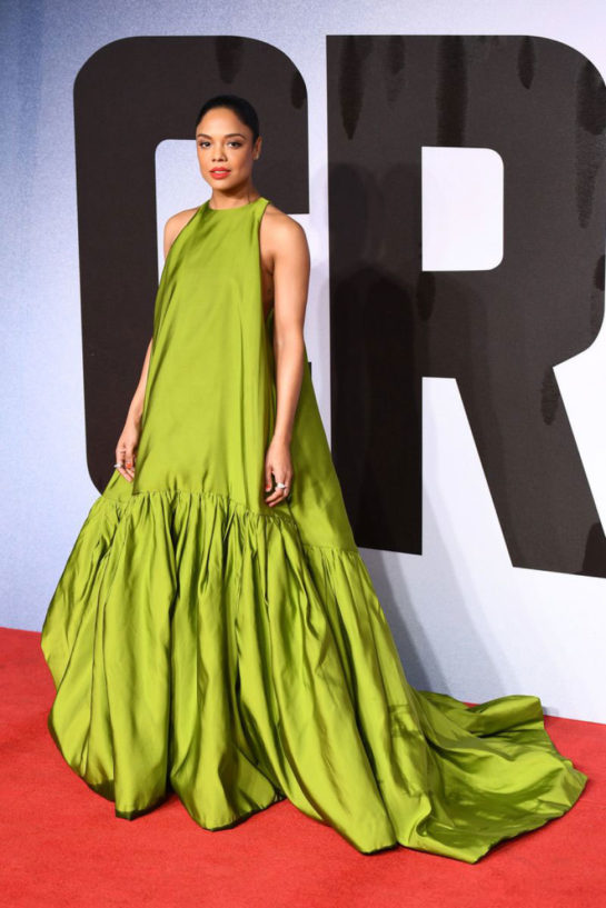 Tessa Thompson at Creed II Premiere in London