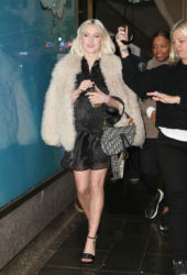 Zara Larsson Out and About in New York