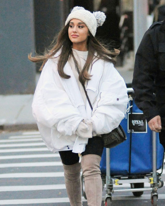 Ariana Grande Out in New York