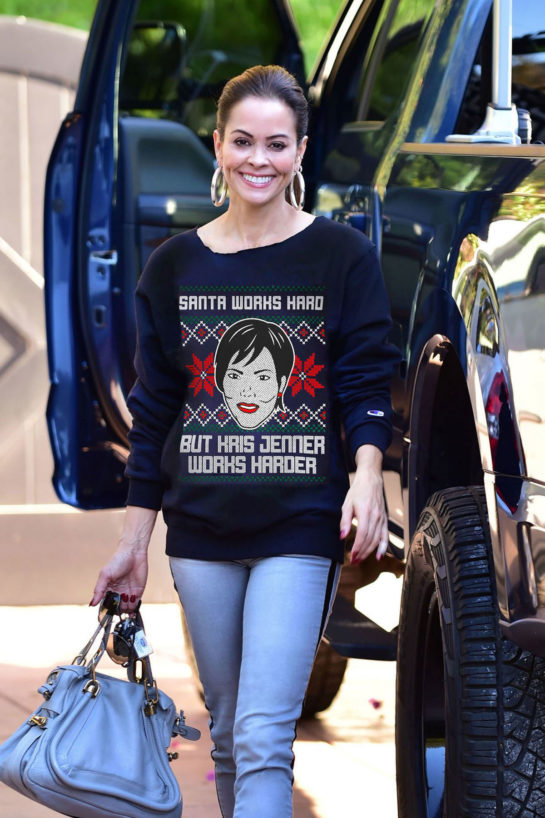 Brooke Burke Arrives to Her Workout Class in Malibu
