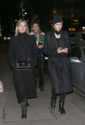Cara Delevingne and Ashley Benson Night Out in London