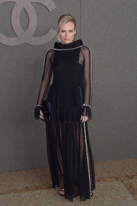 Diane Kruger at Chanel's Metiers d'Art 2019 Show in New York