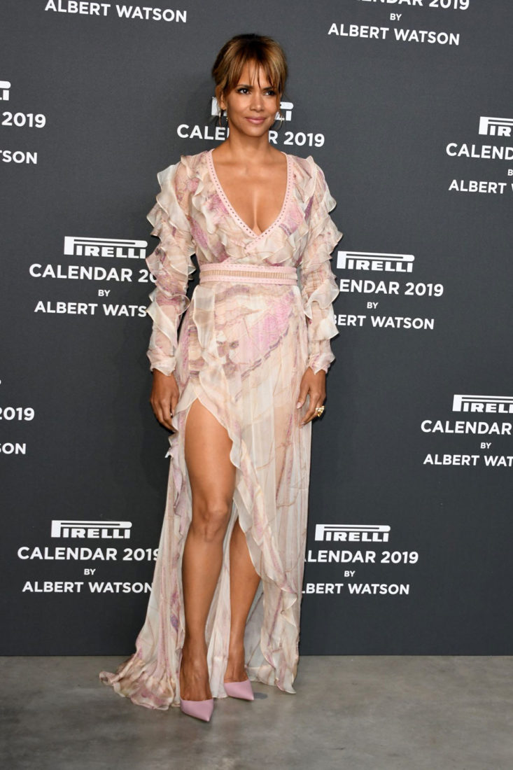 Halle Berry - 2019 Pirelli Calendar Launch Gala in Milan