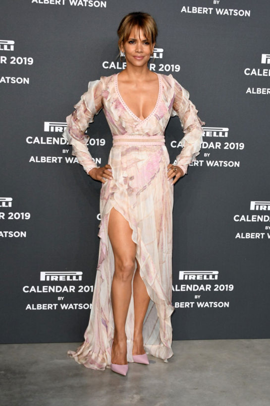 Halle Berry - 2019 Pirelli Calendar Launch Gala in Milan