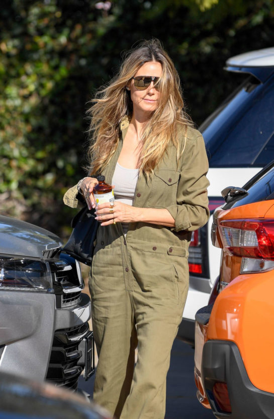 Heidi Klum Shopping in Los Angeles