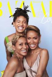 Jada Pinkett-Smith, Willow and Adrienne Banfield-Norris for Harper's Bazaar (December 2018)