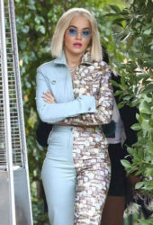 Rita Ora leaving Hotel Bel-Air in Beverly Hills