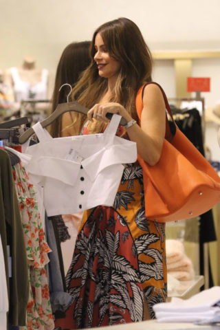 Sofia Vergara at Bal Harbour shops in Miami