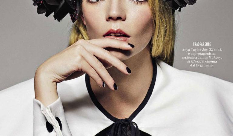 Magazine Covers – Anya Taylor-Joy in Vanity Fair Italy Magazine (January 2019)