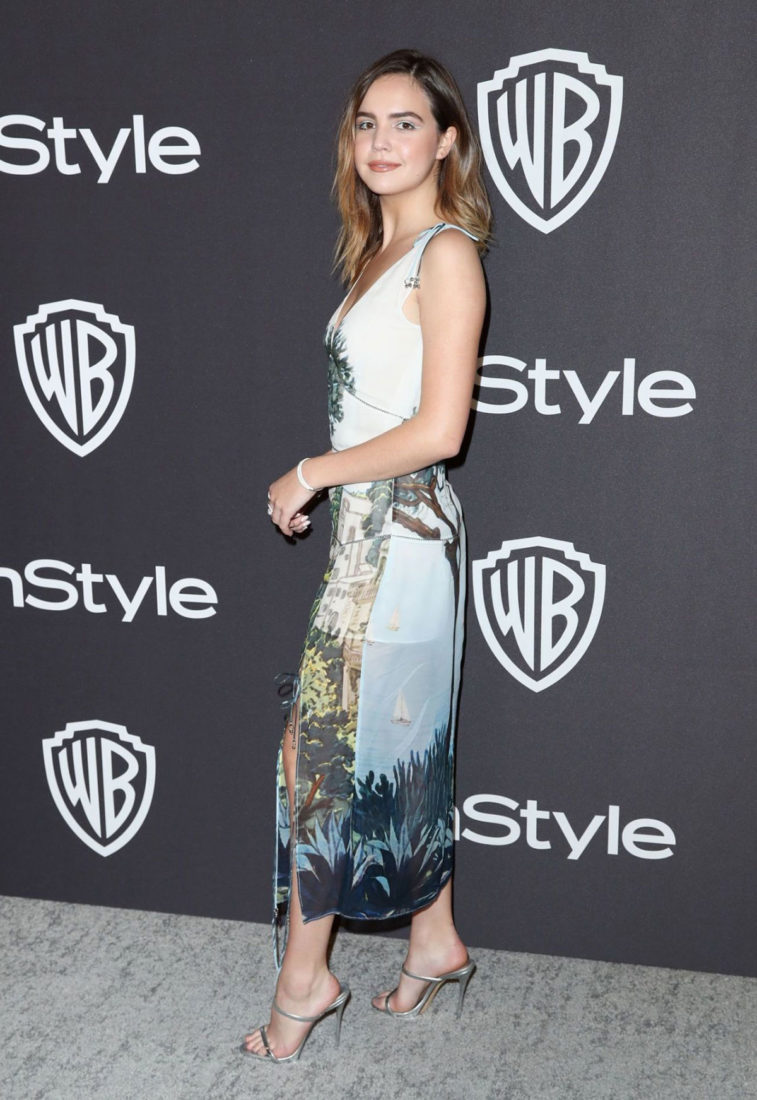 Bailee Madison at InStyle and Warner Bros Golden Globes 2019 After Party
