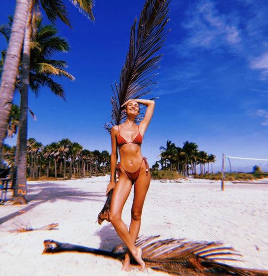 Candice Swanepoel Tropic Of C swimwear