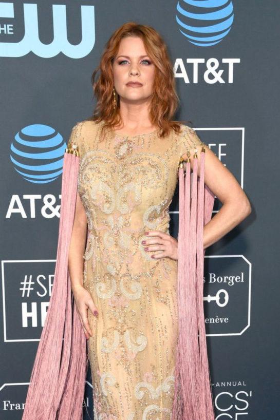 Carrie Keagan at 2019 Critics' Choice Awards in Santa Monica