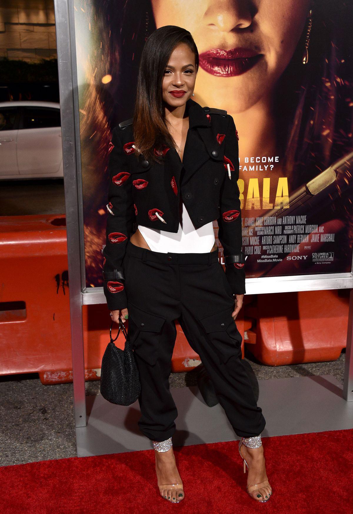Christina Milian at Miss Bala Premiere in Los Angeles
