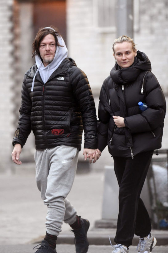 Diane Kruger and Norman Reedus Out in New York