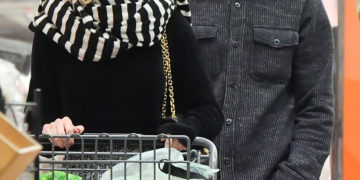 Emma Roberts and Evan Peters Shopping in Los Angeles