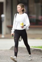 Genevieve Hannelius Out in Los Angeles