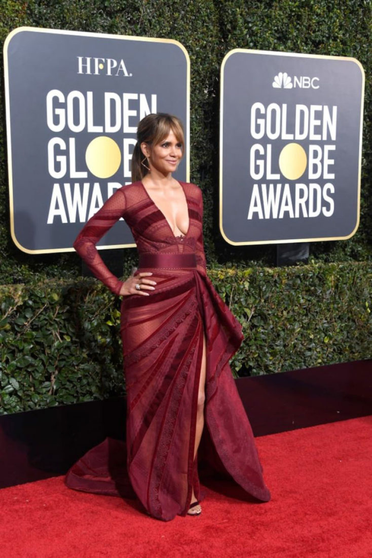 Halle Berry at 2019 Golden Globe Awards