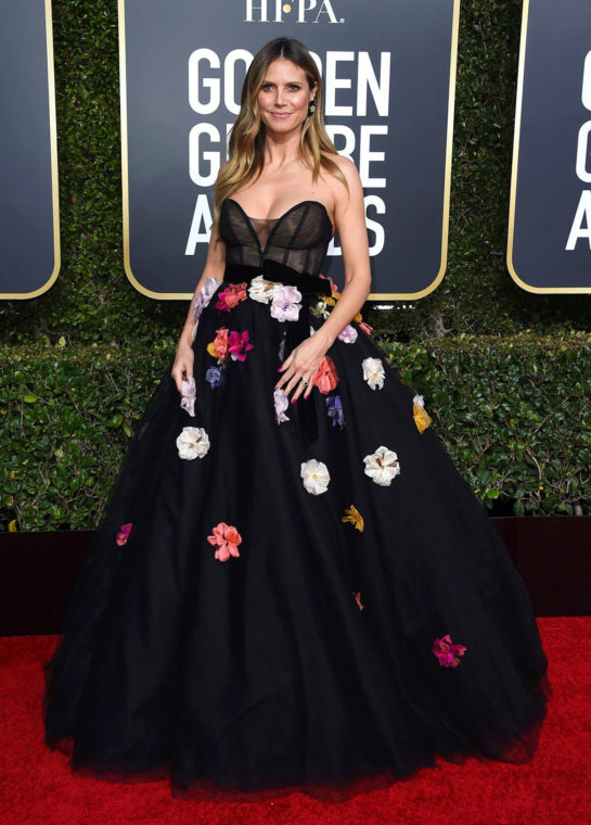 Heidi Klum at 2019 Golden Globe Awards