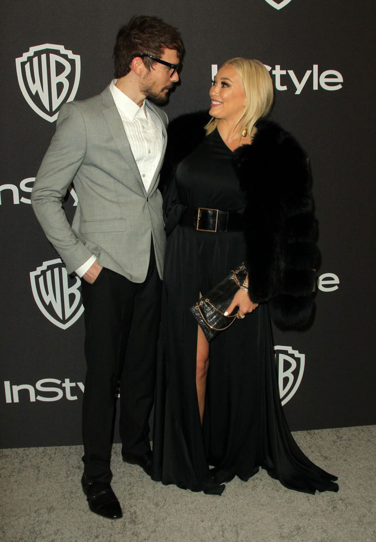 Hilary Duff at InStyle and Warner Bros Golden Globes 2019 After Party