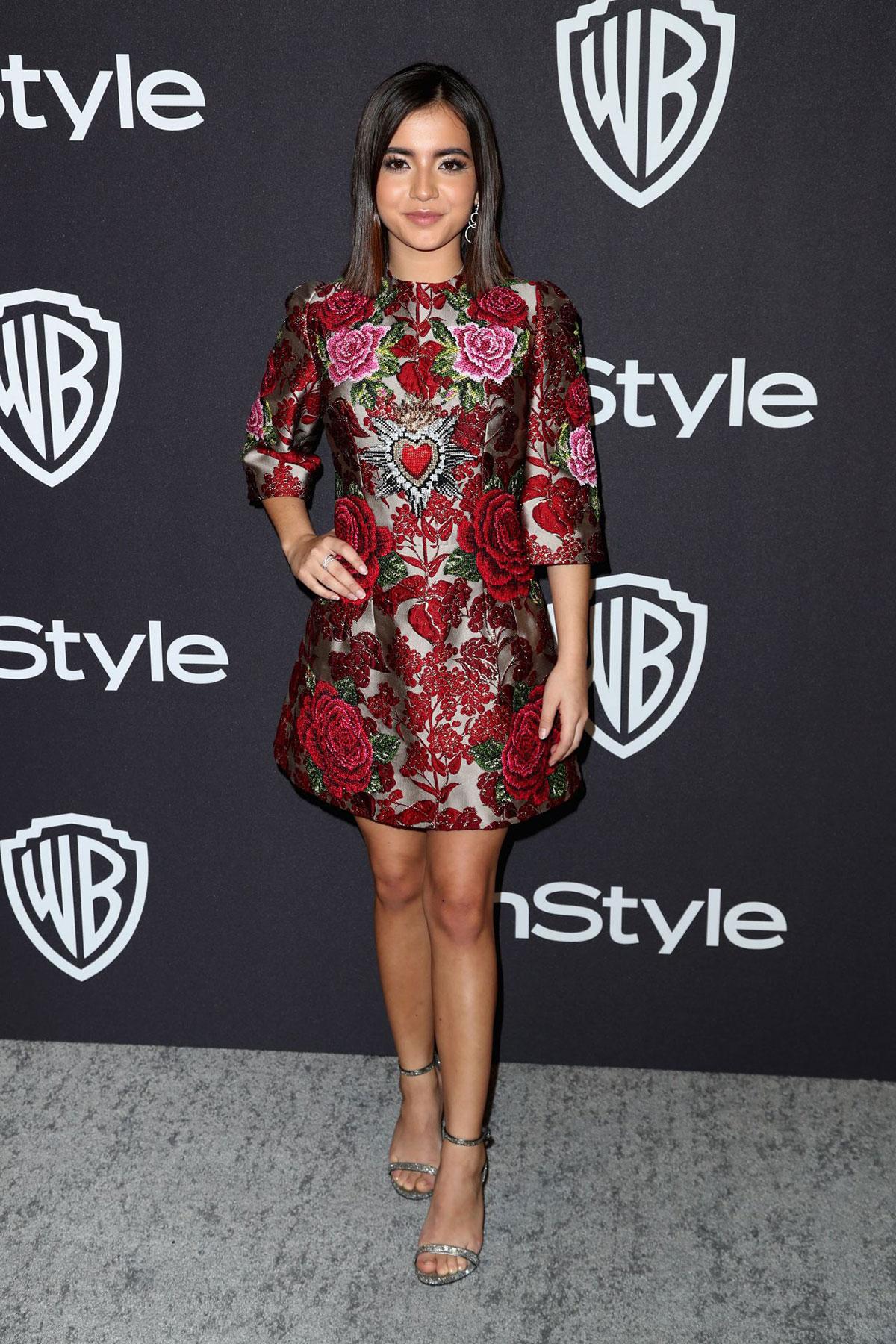 Isabela Moner at InStyle and Warner Bros Golden Globes 2019 After Party